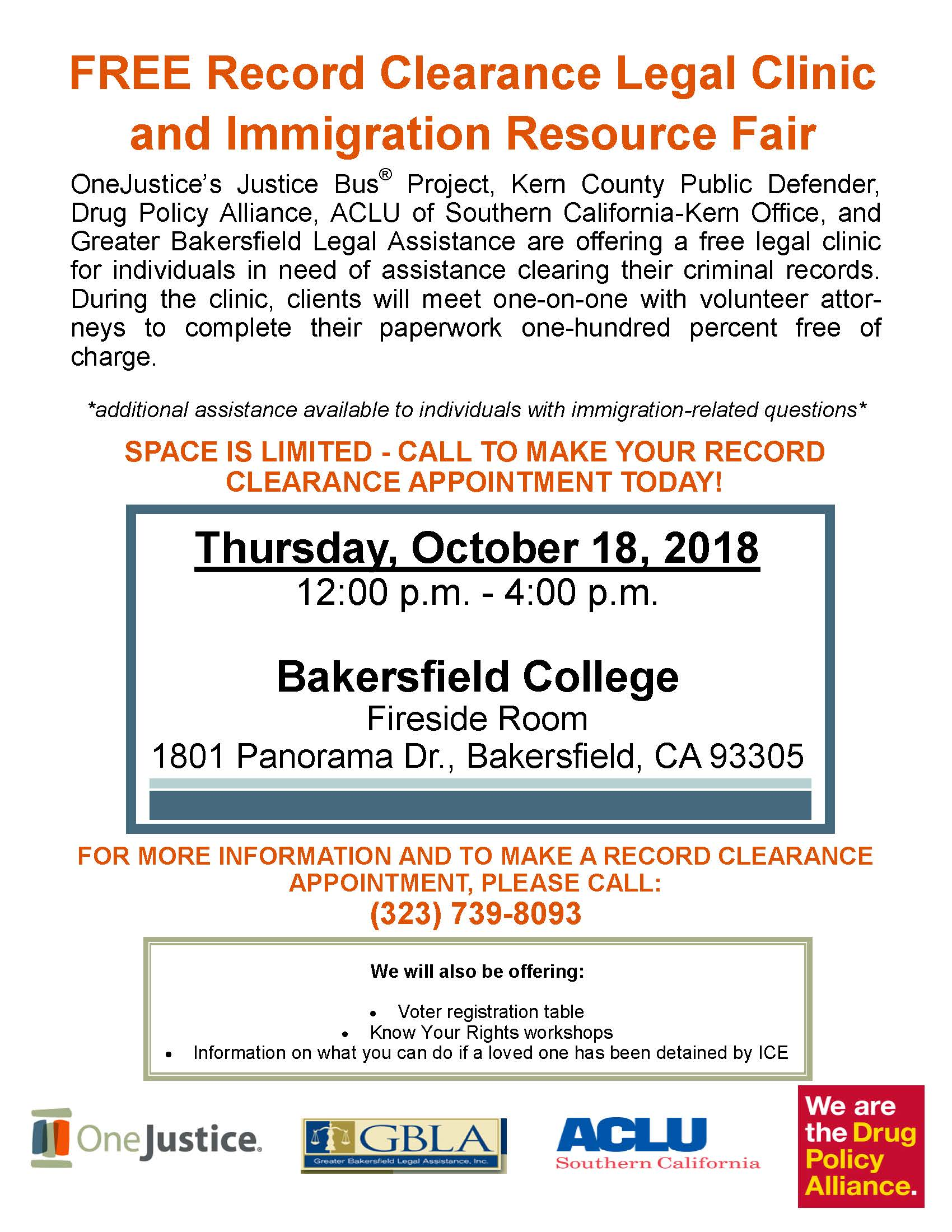 Record Clearance & Immigration Resource Fair - CAPK
